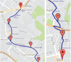 Community preferred route for the Pennant Hills to Epping Cycle Path